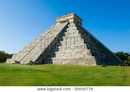 Mayan Pyramid Chichen Itza, Mexico