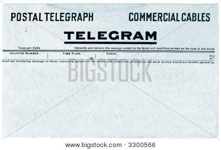 Vintage Telegram