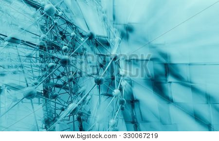 3D rendering of abstract technology concept