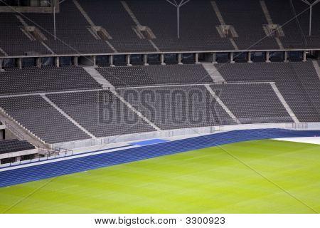 Empty Stadium Interior