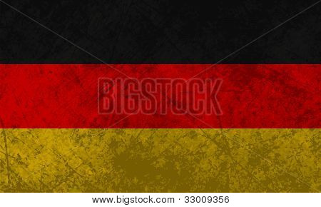 German Flag Grunge