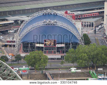 Koeln, Germany - Circa August 2019: Musical Dome (aka Opera Am Dom) Originally Provisional Music Ven