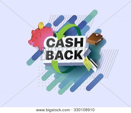 Emblem Cash Back. Return On Investment. Return Of Money. Money Refund Badge. Money Back Reward For F