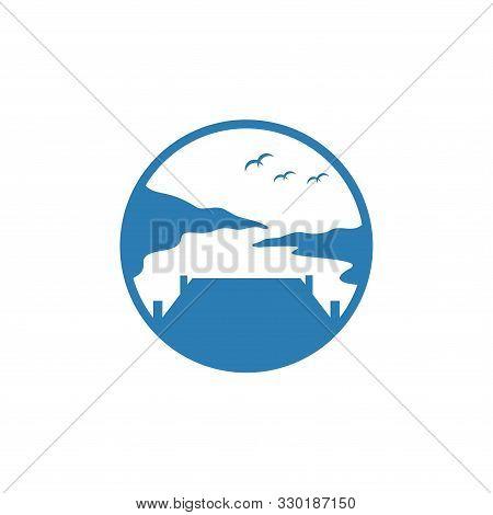 Dock Logo Template, Docking Icon Vector Illustration
