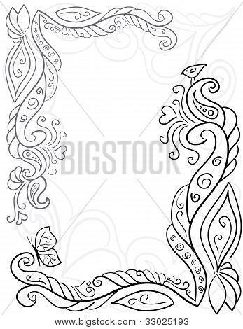 Flower pattern for beautiful design