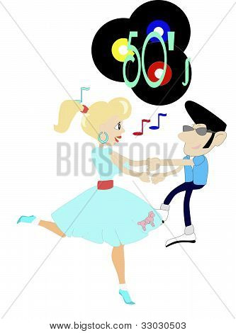 Rockin to the 50's Music