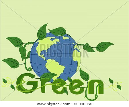 Go Green in beauty of the world!!