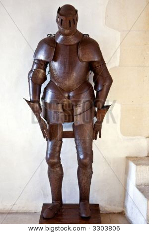 Iron Armour Of The Knight