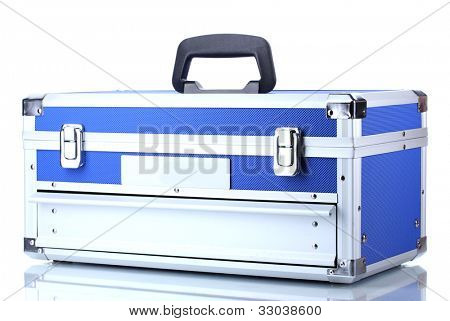 box for tools isolated on white