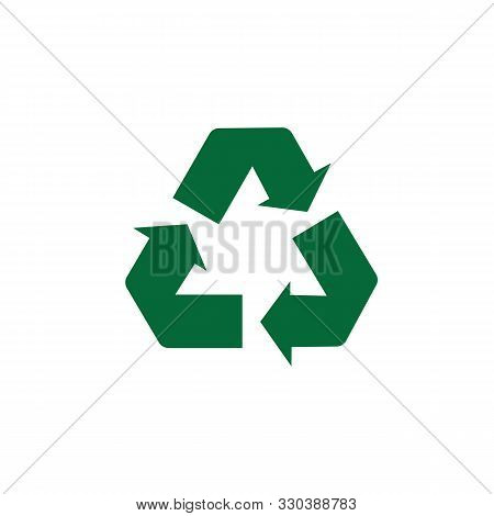 Recycle Icon, Recycle Icon Vector, In Trendy Flat Style Recycle Icon Image, Recycle Icon Illustratio