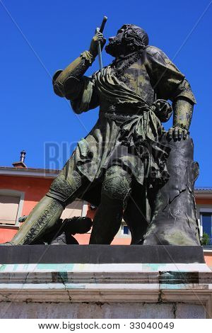 Statue Of A French Soldier