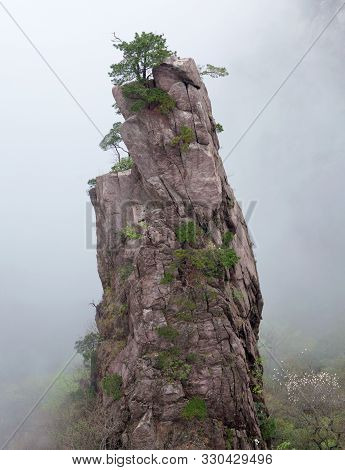 Huangshan Mountain (yellow Mountain), China. Of All The Notable Mountains In China, It Is Probably T