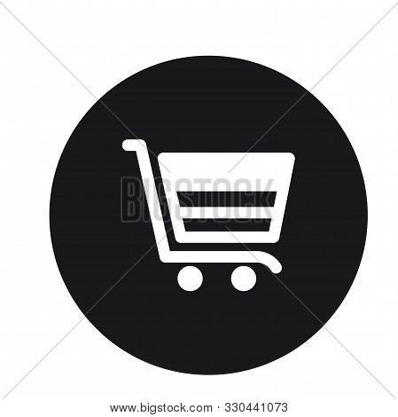 Cart Plain Shopping Trolly Icon Vector Illustration For Web*
