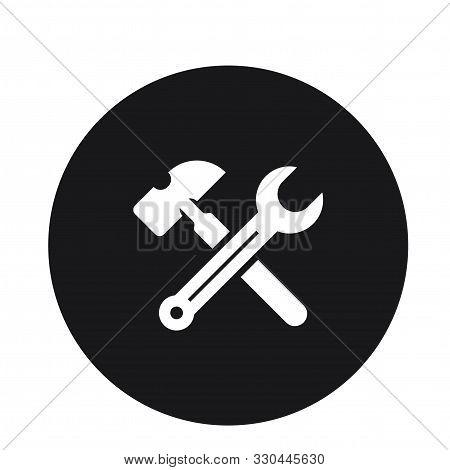 Maintenance Seo Web Icon Vector Illustration For Web