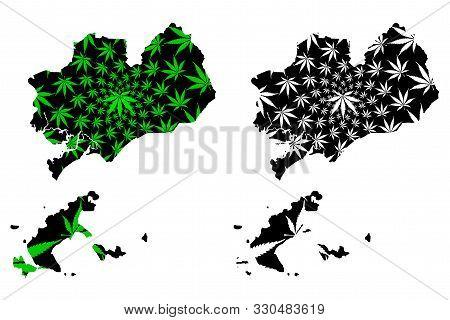 Ba Ria-vung Tau Province (socialist Republic Of Vietnam, Subdivisions Of Vietnam) Map Is Designed Ca