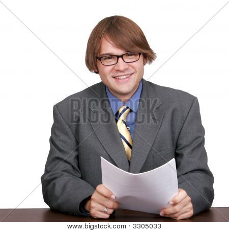 One Young Businessman