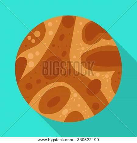 Vector Illustration Of Mars And Orb Sign. Graphic Of Mars And Star Stock Vector Illustration.