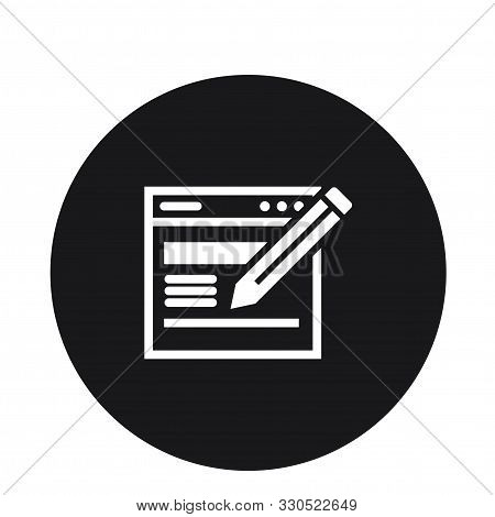 Article Content Writing Paper Storytelling Write Icon For Web
