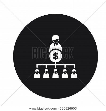 Business Hierarchy Leader Finance Icon For Web