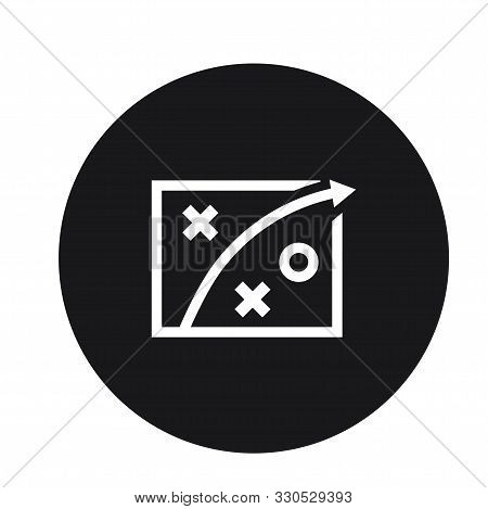 Business Plan Strategy Icon Design For Web