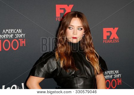 LOS ANGELES - OCT 26:  Billie Lourd at the