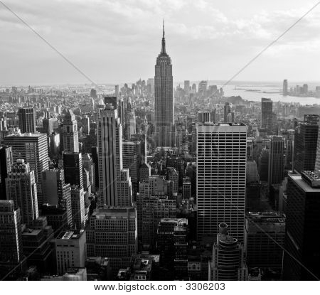 View Of Downtown Manhattan