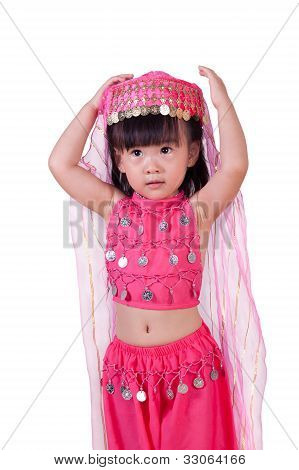 Asian Pricness Young girl