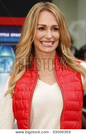 LOS ANGELES - MARCH 6: Taylor Armstrong at the World Premiere of 'Mars Needs Moms' held at the El Capitan Theater in Los Angeles, California on March 6, 2011