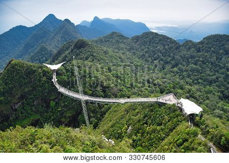 Pictures Of And From The Amazing Langkawi Sky Bridge On The Top Of Gunung Mat Cincang Mountain