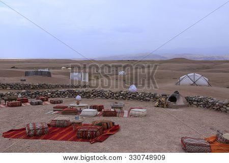 Camp In Agafay Desert, Morroco