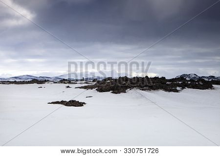 The Vast Desolate Beauty Of The Highlands In Winter