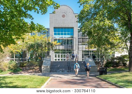 Robert L. Carothers Library And Learning Commons On The Campus Of University Of Rhode Island
