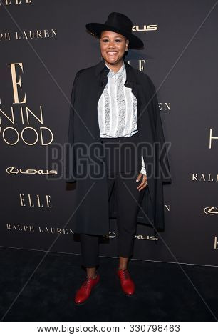 LOS ANGELES - OCT 14:  Rahne Jones arrives for the ELLE Women in Hollywood on October 14, 2019 in Westwood, CA