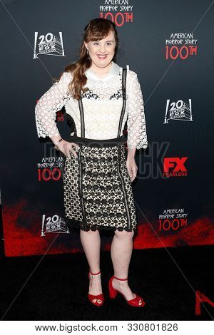 LOS ANGELES - OCT 26:  Jamie Brewer at the