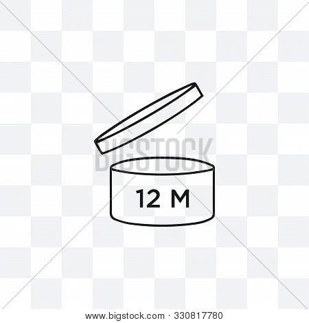 Period After Opening Symbol. Vector Illustration, Flat Design.