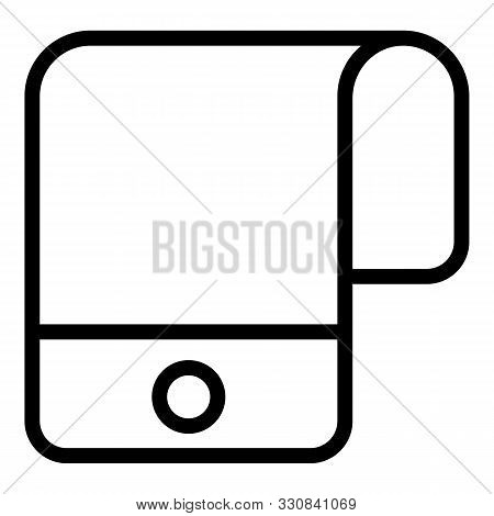Foldable Display Gadget Icon. Outline Foldable Display Gadget Vector Icon For Web Design Isolated On