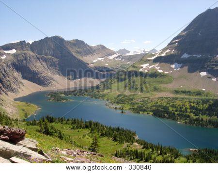 Mountain Lake Overlook