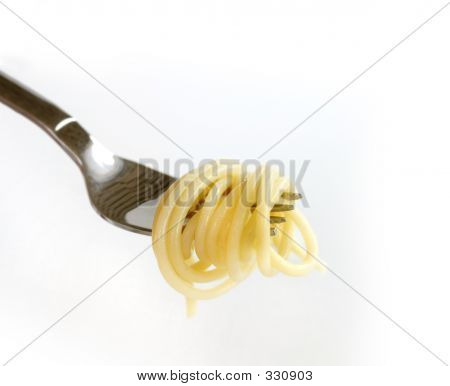 Close-up Of Italian Pasta