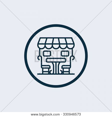 Bistro Icon Isolated On White Background. Bistro Icon Simple Sign. Bistro Icon Trendy And Modern Sym