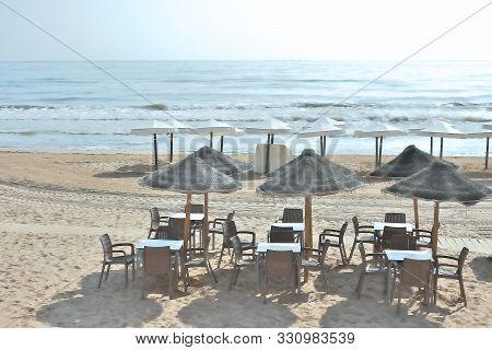 Guardamar Del Segura Beach, Alicante. Spain. Europe. September 21, 2019