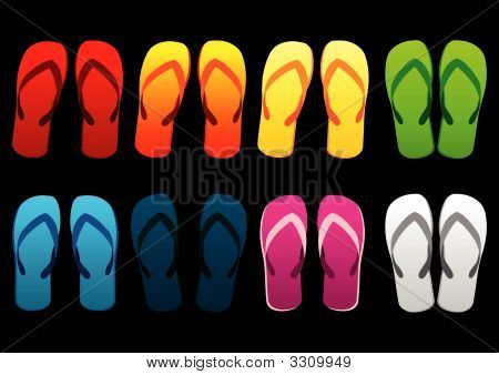 Colorful Beach Sandals