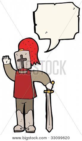 cartoon arthurian knight