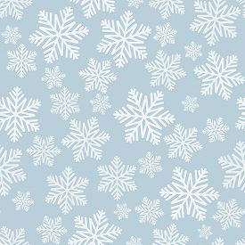 Beautiful Seamless Pattern For Merry Christmas And New Year. Modern Flat Design. Christmas And New Y