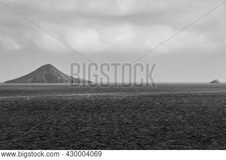 Beautiful Hormigas Islands In Cabo De Palos, Cartagena Province, Murcia, Spain