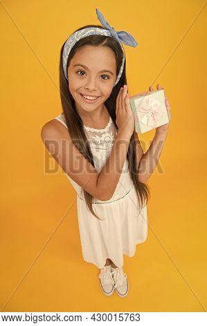 Womens Day. Spring Holidays. Cute Small Kid Adorable Girl. Fashion Accessories. Girl Long Hair Banda