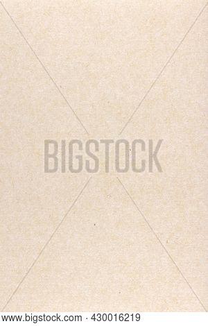 Decorative Kraft Paper Texture. Decorated Vintage Paper Background. Portrait Vertical Orientation.