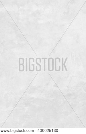 White Concrete Stone Surface Paint Wall Background, Grunge Cement Paint Texture Backdrop, White Roug