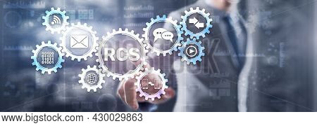 Rcs. Rich Communication Services. Communication Protocol Between Mobile Telephone