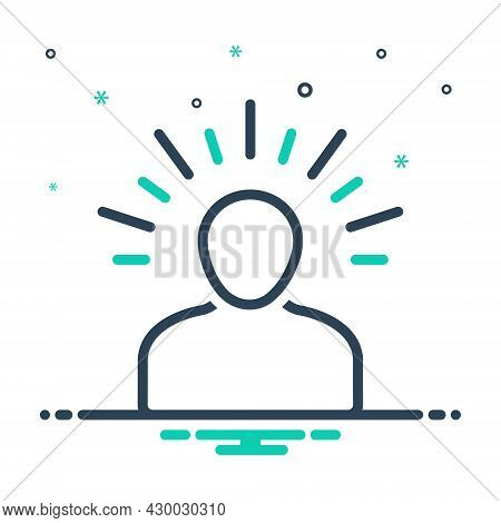 Mix Icon For Yoga Meditate Calm Relax Concentrate Peaceful  Fitness Pose Workout Exercise Fit