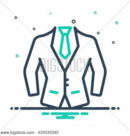 Mix Icon For Dress-formal Dress Fashion Cloth Fashionable-dress Male Costume Habiliments Wearable Ge